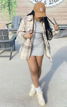 Boujee Outfits, Baddie Outfits Casual, Swag Outfits For Girls, Teenage Girl Outfits, Cute Swag Outfits, Chill Outfits, Teen Fashion Outfits, Dope Outfits, Trendy Outfits