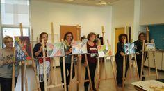 Taller de Mosaiquismo de Ricardo Stefani en el Centro Cultural 25 de Mayo Villa Urquiza