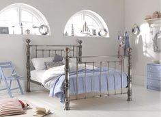 Aurora Bed Frame - Brass