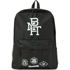 Bring Me The Horizon BMTH Backpack | Hot Topic ($50) ❤ liked on Polyvore featuring bags, backpacks, band merch, accessories, strap backpack, strap bag, knapsack bags, rucksack bag and padded backpack