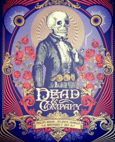 Dead & Company Atlanta Show Graphic 2015