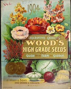 Heaveninawildflower — Illustrated front cover of 'Wood's High Grade...