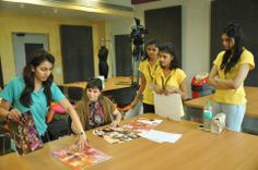 Students at @Whistling Woods-Neeta Lulla School Of Fashion learning about Sumerian Costumes