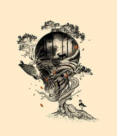 illustration,macabre,skull,artwork,beautiful,creative-