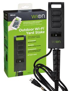woods;wion;coleman;cable;50053;wifi outlet;wifi plug;smart plug;smart outlet;connected home