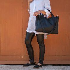 Βlack leather top handle crossbody bag Luxury Handbags, Black Tops, Fendi, Handle, Crossbody Bags, Leather, Shopping, Collection, Women