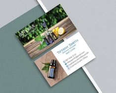 High resolution 300 dpi image digital file that you can print doterra business cards custom doterra business card modern business card essential oil reheart Images