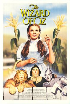 """The Wizard of Oz"" - Dorothy Gale is swept away from a farm in Kansas to a magical land of Oz in a tornado and embarks on a quest with her new friends to see the Wizard who can help her return home in Kansas and help her friends as well. (1939)"