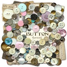 Buttons remind me of my Grandma Burke.  I have her button box and it still smells like her.