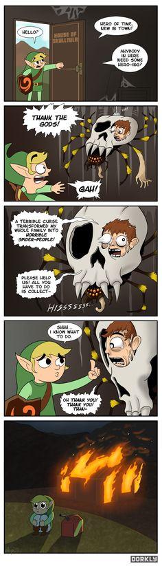 legend of zelda ocarina of nightmares