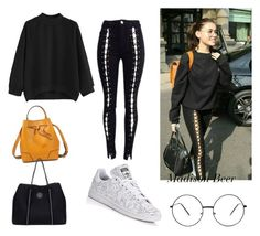 """""""Get the look Madison Beer"""" by arlem-cruz ❤ liked on Polyvore featuring 3.1 Phillip Lim, Roxy and adidas"""