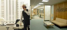 Sterling Cooper Draper Pryce Offices
