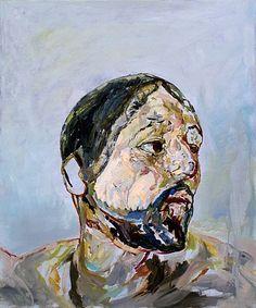 "Aaron Smith, ""Habdabs"", oil on panel, 2008."