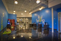 NewSpring Church Greenwood Campus Kid's Ministry - Greenwood, SC (design by a partner at Equip Studio while at a previous firm).