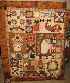 I ORGANIZED the making of this quilt and prepped several blocks for sewing and sewed the squirrel block.  Opportunity quilt 2014 Back Country Quilters