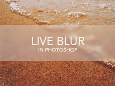 Live Blur (Free PSD) by Kyle Adams