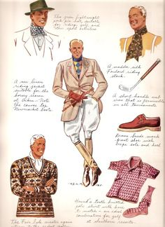 Esquire Fashion plates - March 1935