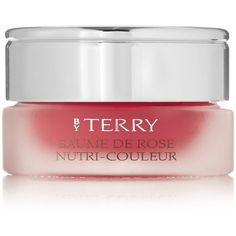 By Terry Baume De Rose Nutri-Couleur - Cherry Bomb ($47) ❤ liked on Polyvore featuring beauty products and red