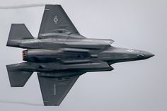 Stealth Detail - US Marines F-35A displaying at last weekends RIAT.