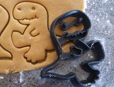 3D Printed Dinosaur Cookie Cutter