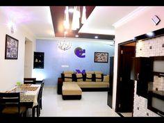 Interior Design Walkthrough of Mr. Sriharsha & Manaswini's House Chandelier Pendant Lights, Pendant Light Fixtures, Stone Cladding, Apartment Interior, Closet Organization, Master Bedroom, Foyer Design, Interior Design, Modern
