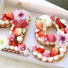 There are lots of exquisite modern birthday number cakes on Instagram at the moment, and I think this is going to be a trend to watch this year. @adikosh123 creates number biscuit sandwiches topped with pretty meringues, macarons, fruit and flowers. So beautiful, you could easily recreate this with sponge if you preferred a cake. … Read more...