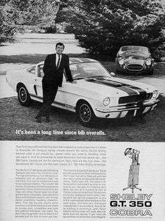 1966 Ford Shelby Mustang and 427 Cobra Ford Mustang Gt, Mustang Cobra, 427 Cobra, Bicicletas Raleigh, Shelby Car, Vintage Mustang, Automobile, Ford Classic Cars, Classic Mustang