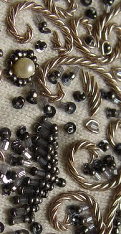 broderie haute couture http://www.broderie-creation.com/ecole-de-broderie.html