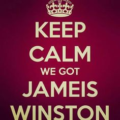 Jameis Winston. We had him playing for Florida State and now for Tampa Bay! He's the BEST!!!!