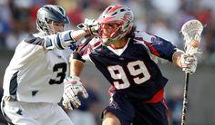 MLL Mayhem on the field with Paul Rabil #99.