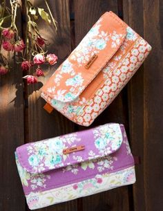 Stationary little bag, pouch or glasses case. DIY Tutorial