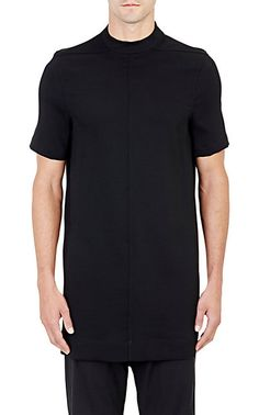 Rick Owens Mock Turtleneck Tunic - Crewneck - Barneys.com