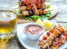 Шашлык из курицы в меду   Ссылка на рецепт - https://recase.org/shashlyk-iz-kuritsy-v-medu/  #Птица #блюдо #кухня #пища #рецепты #кулинария #еда #блюда #food #cook