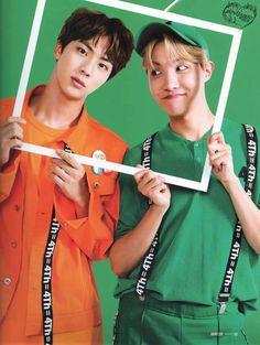 Jin e J-Hope Dois nenês