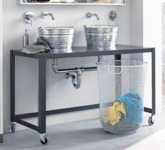 1000 images about bathroom on pinterest bathroom - Industrial style bathroom vanities ...