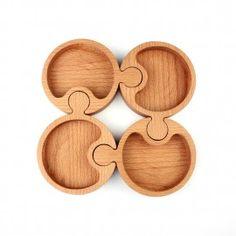Holzpuzzle Präsentation Buche - - Holzpuzzle Präsentation Buche - rez k Ahşap YapBoz Sunum Kayın Holzpuzzle Präsentation Buche Wooden Projects, Wooden Crafts, Diy And Crafts, Router Projects, Woodworking Projects, Wood Tray, Wood Boxes, Monkey Pod Wood, Cnc Cutting Design