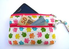 Another sweet phone/cash wristlet