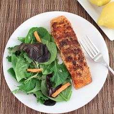 Grilled Spiced Salmon – The Foodee Project