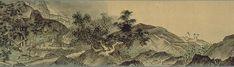 雪舟-四季山水図(「山水小巻)6