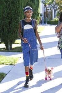Fashion Muse Willow Smith & Her Dogs http://barkandswagger.com/fashion-muse-willow-smith-her-dogs-in-the-celebrity-spot-on-bark-and-swagger