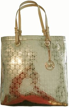 Women's Michael Kors Purse Handbag North/South « Clothing Impulse i want this one too!!