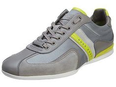 Hugoboss Space Up Mens 50256524-033 Grey Casual Shoes Sneakers Size 10