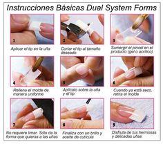 Dual System Forms (Moldes de uñas)