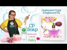 Soap Testing Cashmere Type Fragrance Oil- Natures Garden