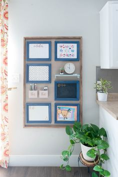 Kitchen Wall Command Centers for Families!