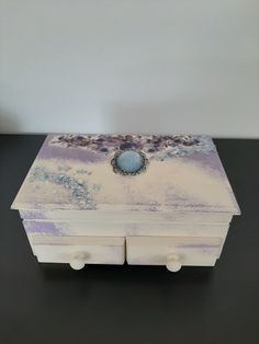 Shabby chic jewellery box home decor Shabby Chic Jewellery Box, Jewelry Box, Unique Jewelry, Tea Box, One More Step, Marketing And Advertising, Create Yourself, Stud Earrings, Trending Outfits