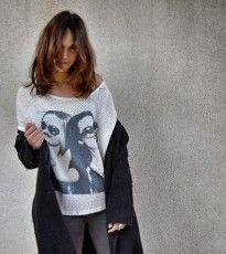 Camiseta dos caras blanca / http://onlyou.es/store/ropa