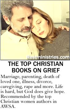 THE TOP CHRISTIAN BOOKS ON GRIEF. This is a great list of books recommended by current Christian women authors. It includes topics from rape to divorce, death of loved one to illness and much more, including a lot of general books on suffering