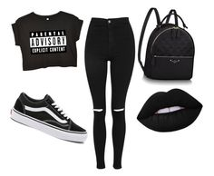 """""""Untitled #1"""" by tjahtya-1 on Polyvore featuring Topshop and Vans"""