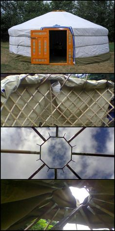 If you love the outdoors but hate little tents, then this Mongolian yurt is for you!  Would this make camping more appealing for you?